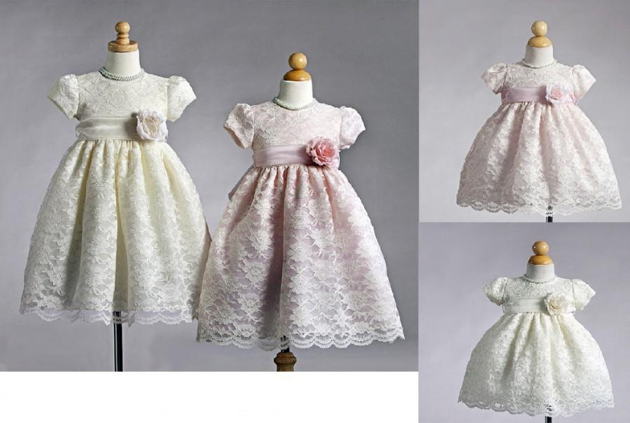 4d43aee69010 Vacker spetsklänning för barn. Vi kan brudnäbbsklänningar!