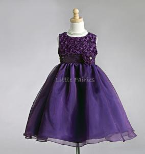 Näbbklänning Emma - purpur