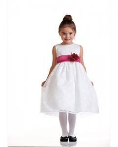 Festklänning Elina - kritvit