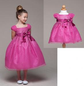 Prinsessklänning Katja - fuschia