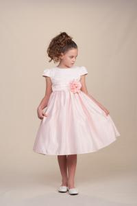 Näbbklänning Savannah - ljusrosa