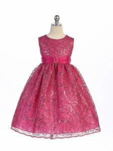 Festklänning Odelia - fuschia
