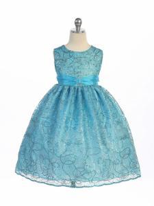 Festklänning Odelia - turkos