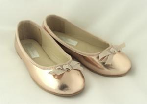 Ballerinaskor Rose Gold