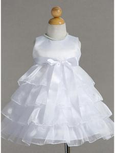 Babyklänning Celeste - vit