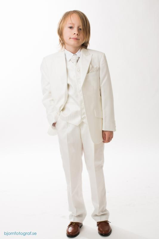 Gräddvit kostym Gabriel