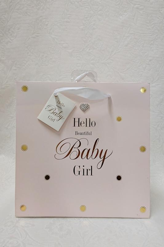Presentpåse Hello Baby Girl