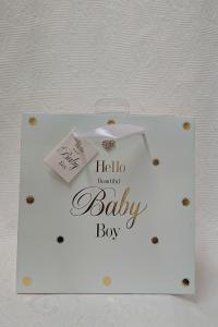 Presentpåse Hello Baby Boy