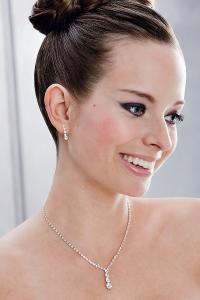 Halsband och örhängen 66041