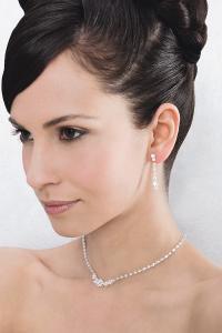 Halsband och örhängen - 66126