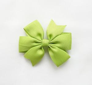 Hårrosett Grön