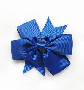 Hårrosett royalblå