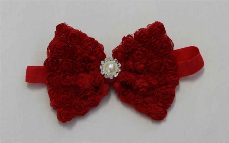 Hårband Diana - röd