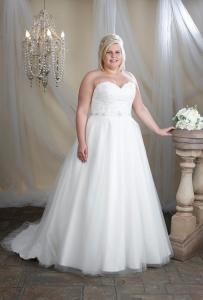 Brudklänning P1006
