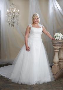 Brudklänning P1007