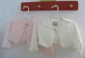 Ivory och rosa kofta