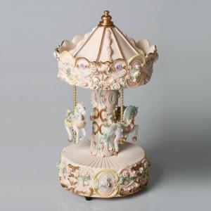 Speldosa Stor Karusell - Pastell