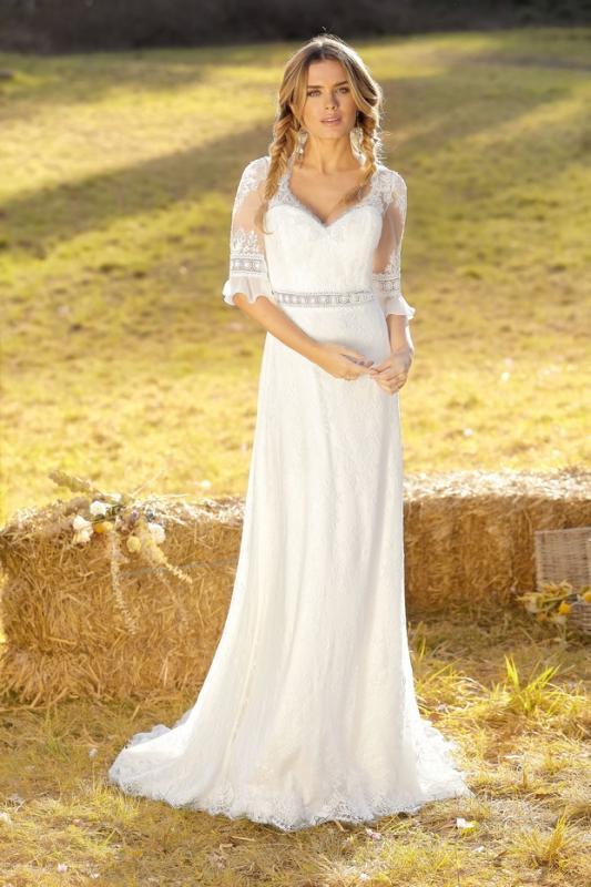 Bohemisk bröllopsklänning Autumn