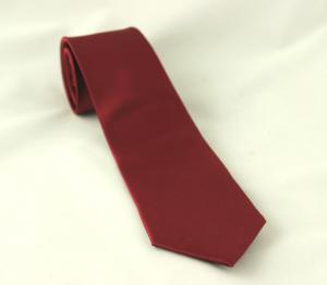 Vinröd slips - barn