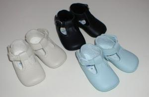 Mjuka skor i läder