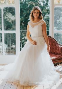 ab9cc904c3be Ett brett sortiment av bröllopsklänningar i stora storlekar!