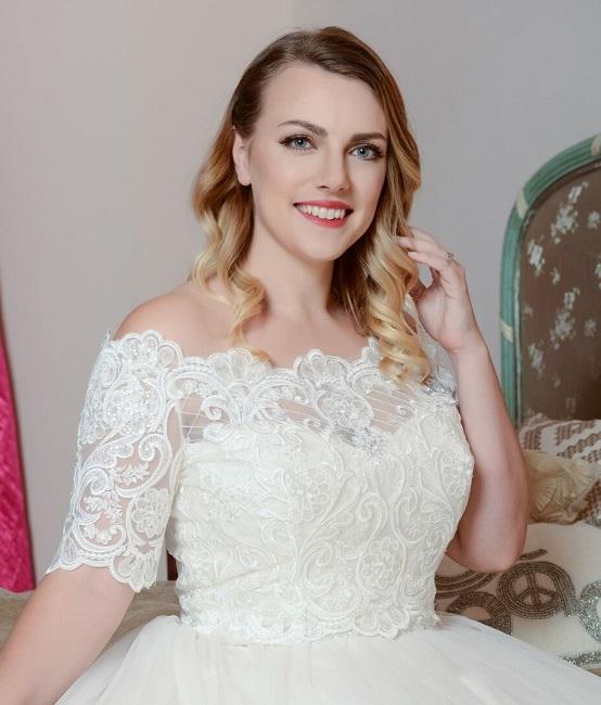 Brudbolero Stephanie