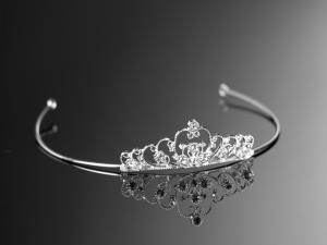 Söt tiara med strass