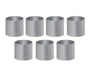 ACCESSORIZE Ljusmanschett 7-pack 2,2cm Silver