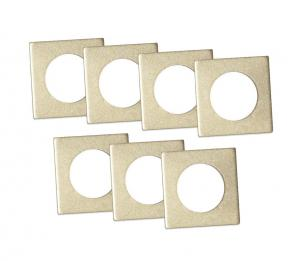 ACCESSORIZE Ljusmanschett 7-pack 3,3cm Guld