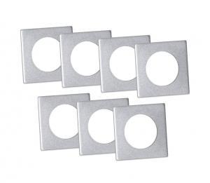 ACCESSORIZE Ljusmanschett 7-pack 3,3cm Silver