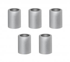 ACCESSORIZE Ljusmanschett 5-pack 2,7cm Silver