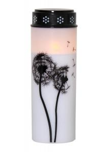 DANDELION LED-Gravljus 21cm Vit