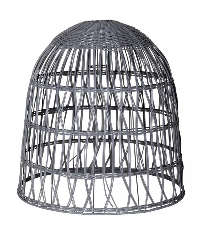 KNUTE Lampskärm 50Vcm Grå IP44