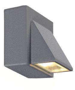 CARINA Vägglampa 1L 8cm Grå