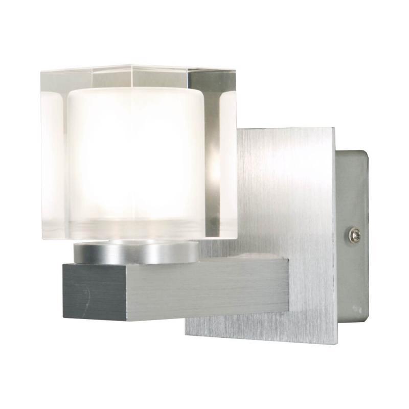 ACATE Vägglampa Aluminium / Klar