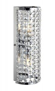 LYSEKIL Vägglampa 2L 10cm Krom/MC IP44