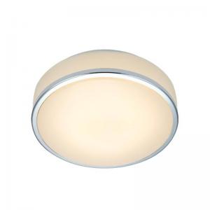 GLOBAL Plafond 28cm Krom/Vit