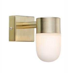 MENTON Badrumslampa Vägg 1L 11cm Mässing IP44