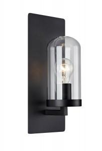 BARNABY Vägglampa 1L 15cm Svart