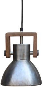 ASHBY SINGLE Tak/Fönsterlampa 19cm Pale Silver