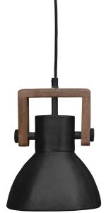 ASHBY SINGLE Tak/Fönsterlampa 19cm Pale Black Zink