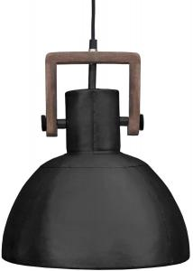 ASHBY SINGLE Tak/Fönsterlampa 29cm Pale Black Zink