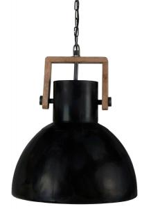 ASHBY SINGLE Tak/Fönsterlampa 40cm Pale Black Zink