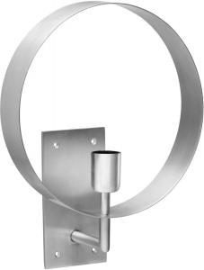 ATMOSPHERE Vägglampa 29cm Pale Silver