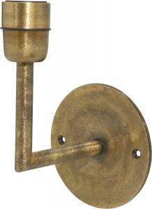 BASE Vägglampa 13cm Beaten Guld