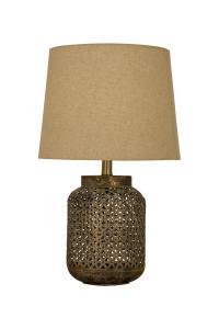 AMALA Bordslampa 55cm Brons
