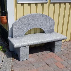 Stenbänk Arch
