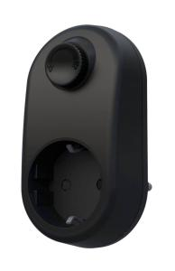 MOOD Plug-in LED Dimmer 3-200W Svart