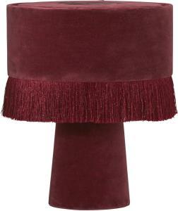 ALEXIS Bordslampa 31cm Vinröd