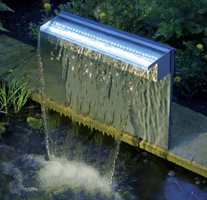 Vattenfall Niagara LED 90cm Rostfritt Stål